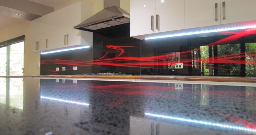 Custom Glass Splashbacks